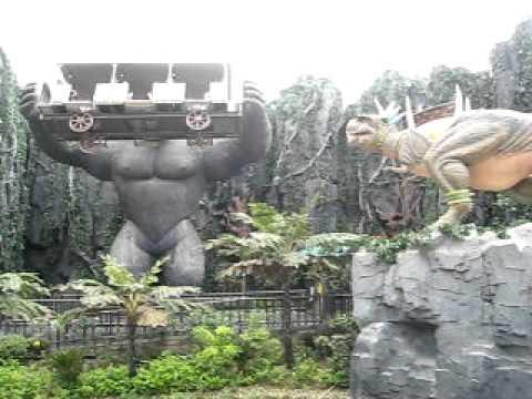 King Kong Changzhou Dinosaur Park Youtube