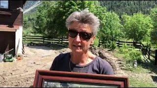 Hautes-Alpes : des habitations envahies par la boue dans la vallée de la Clarée