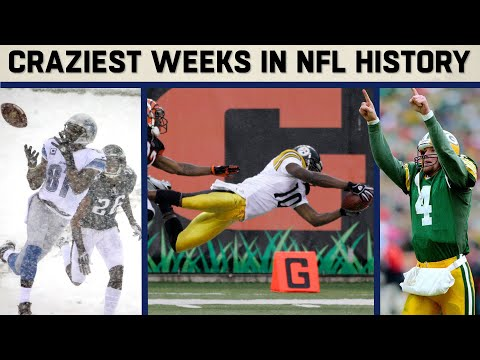 The CRAZIEST Weeks in NFL History: From Wild Weather to Electric Finishes!