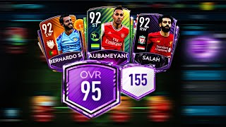 THE BEST FIFA MOBILE 20 TEAM UPGRADE! 95 OVR 150 CHEM EPL SQUAD!