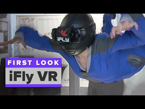 I tried indoor skydiving in VR