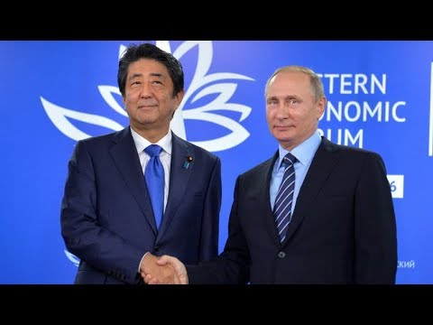 Putin and Abe join SPIEF panel discussion: 'Business dialogue Russia-Japan'