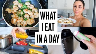 WHAT I EAT IN A DAY - How To Get Back On Track!