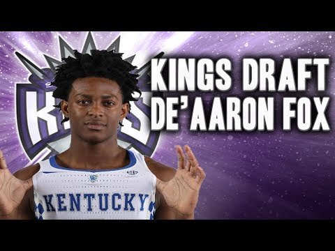 What If De'Aaron Fox is Drafted By The Sacramento Kings?