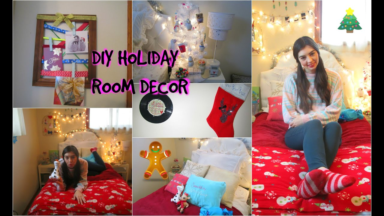 Diy Holiday Room Decor Fun Christmas Decorations For