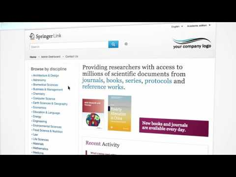 Welcome to SpringerLink - Portuguese (Latin America)