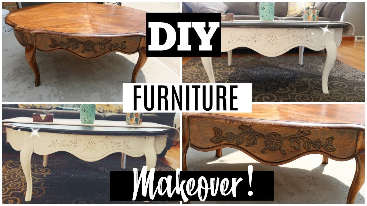 Diy Goodwill Furniture Makeover Daniela Diaries Youtube