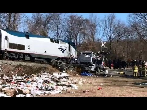 🔴LIVE: Train Carrying GOP Lawmakers Hits Truck - LIVE BREAKING NEWS COVERAGE