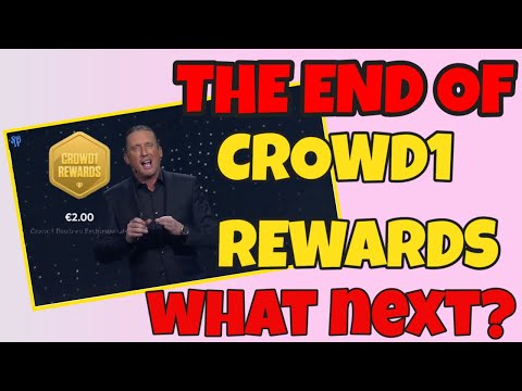 THE END OF CROWD1 REWARDS / WHAT NEXT?