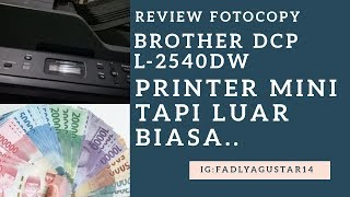 Review Brother DCP-L2540DW