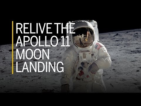 Relive the Apollo 11 moon landing with NASA footage and photos