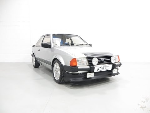 A Superb Original Ford Motorsport Developed Escort RS1600i with Complete History from New - SOLD!