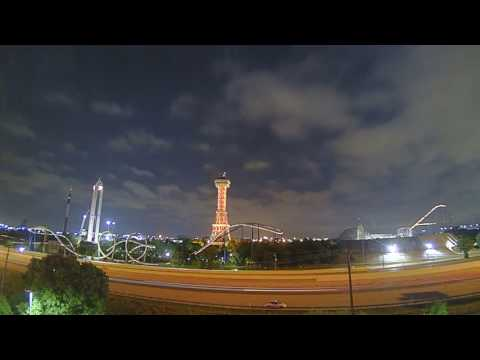 Brinno Time Lapse over Six Flags Texas
