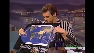 JIM CARREY REVEALS SECRET WORLD DOMINATION PLAN