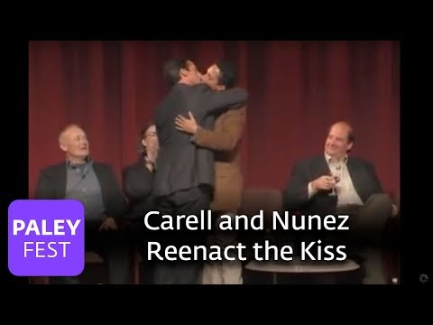 The Office  Carell and Nunez Reenact the Kiss Paley Center