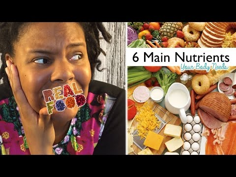 6 Types of Nutrients Your Body Needs