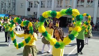 Şener Birsöz ilkokulu İlkay Mete öğrencileri 4/B sinifi 19 Mayıs gösterisi hayat sevince guzel Video