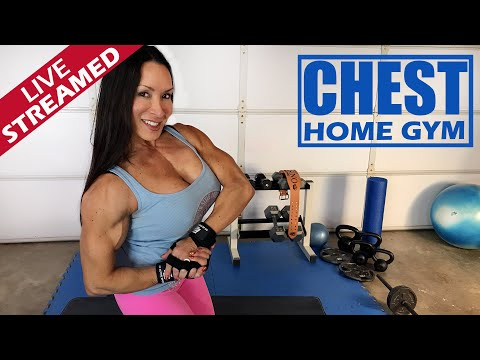 Home Gym Chest Workout 2020 and Fitness Motivation (while social distancing) with Denise Masino from YouTube · Duration:  59 minutes 30 seconds