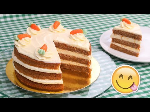 Tarta de Zanahoria | Carrot Cake con Frosting de Queso
