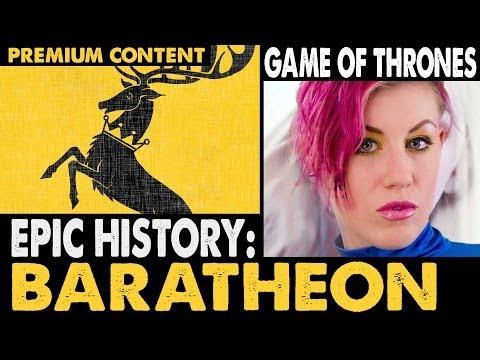 EPIC HISTORY: House Baratheon . Game of Thrones .