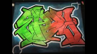 "Graffiti Canvas ""EAZY"" (Molotow 127HS)"