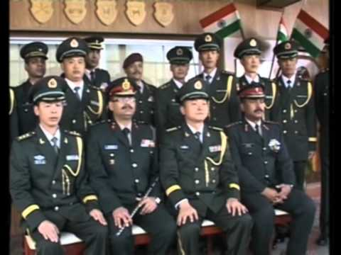 16 Aug, 2012 - Bonhomie, friendship between Indian and Chinese border personnel