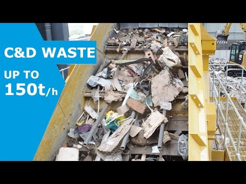 C&D Waste recycling and screening
