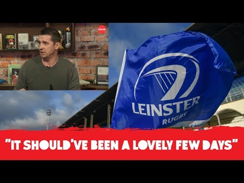 'There's a responsibility to behave' - Alan Quinlan reacts after two alleged incidents during Leinster celebrations
