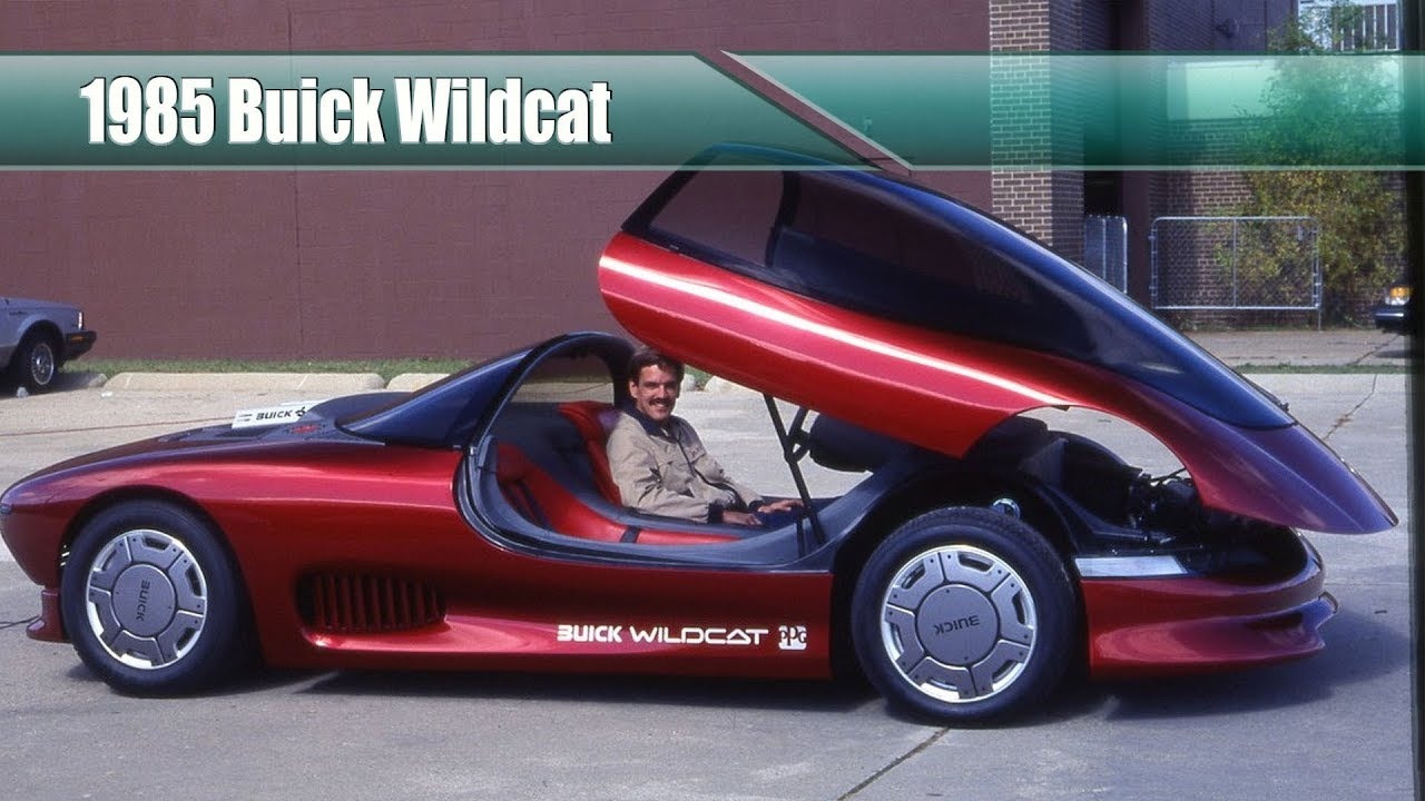 Amazing But Forgotten Concept Cars 1985 Buick Wildcat Youtube