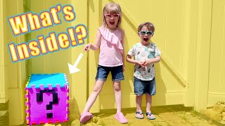 My PB and J Opens Lucky Mystery Blocks! with Hairdooz WAVE 2!