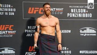Emil Weber Meek na UFC Glasgow: