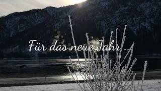 Neujahrsgrüße vom Camping Sennalpe, Seespitz & Kiosk Seeblick