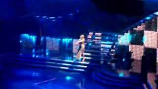 "Kylie Minogue Showgirl Homecoming - ""slow"" dancers pushup"