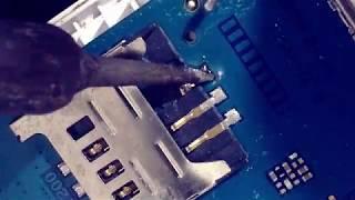 sim card socket repaire