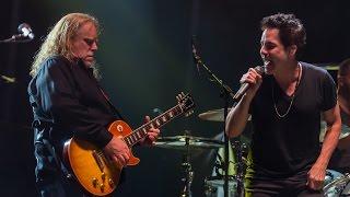 """Train plays Led Zeppelin II (w/ Warren Haynes) - """"Rock and Roll"""" - Mountain Jam 2016"""