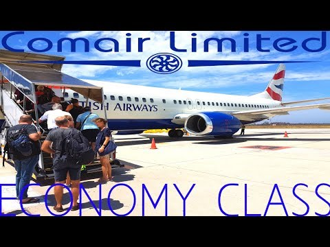 COMAIR ECONOMY Port Elizabeth to Johannesburg Boeing 737