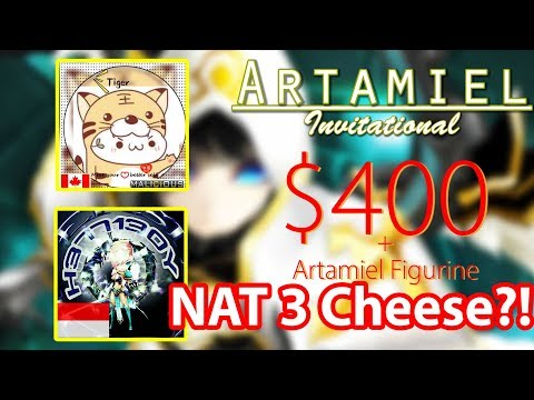 Summoners War - Artamiel Invitational | Tiger 🇨🇦 vs Hellboy 🇮🇩 (Nat 3s?!)