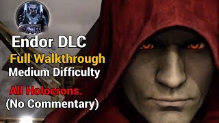 Star Wars: The Force Unleashed 2 - Endor DLC Walkthrough (All Holocrons) Medium Difficulty