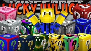 15 LUCKY BLÖCKE - Minecraft Lucky Unlucky Block [Deutsch]