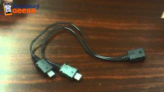 Samsung Micro USB Adapter Charging Cable/Splitter