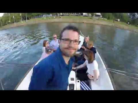 GoPro Love Boat 2016 (Timelapse), Aura River, Turku, Finland