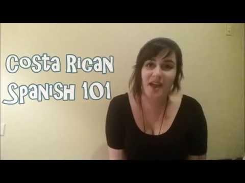 Costa Rican Spanish 101