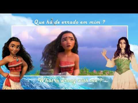Moana/Vaiana - How Far I'll Go (EU Portuguese) Subs & Trans
