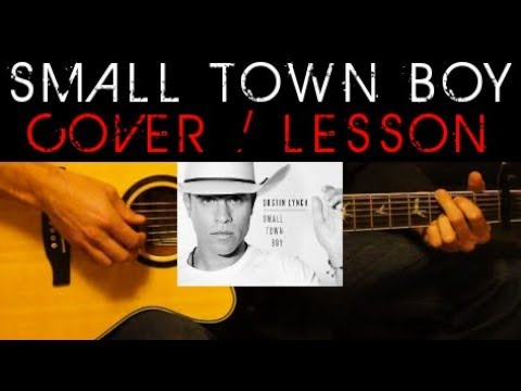 SMALL TOWN BOY - Dustin Lynch Cover 🎸 Easy Acoustic Guitar Tutorial ...