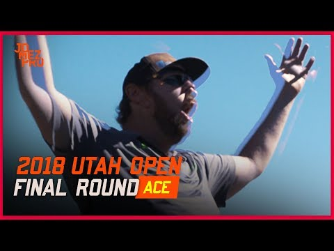 Thumber Bounce ACE! Disc Golf Hole in One - Sias Elmore - 2018 Utah Open Final Round