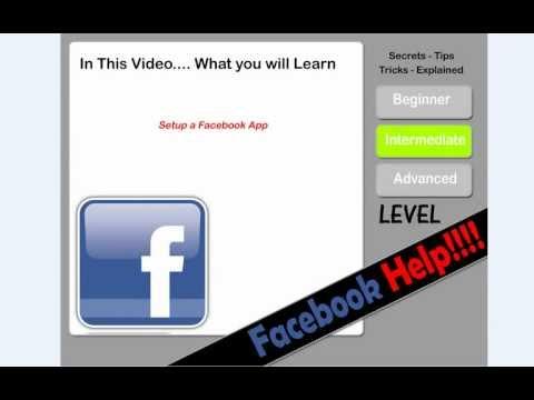 FaceBook Application Help