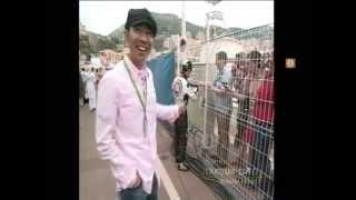 とんねるず木梨が、モナコでレース観戦とインタビューを行う!
