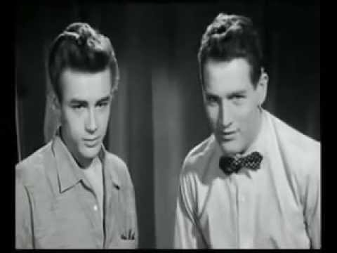 James Dean Screen Test with Paul Newman for
