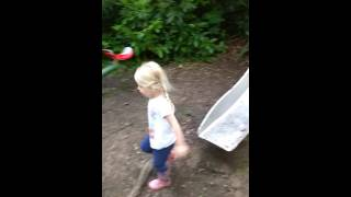 Slides Brokerswood country park fathers day weekend camping 2016