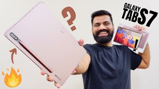 Galaxy Tab S7 Unboxing & First Look - Best Flagship Tab Experience with SPen🔥🔥🔥